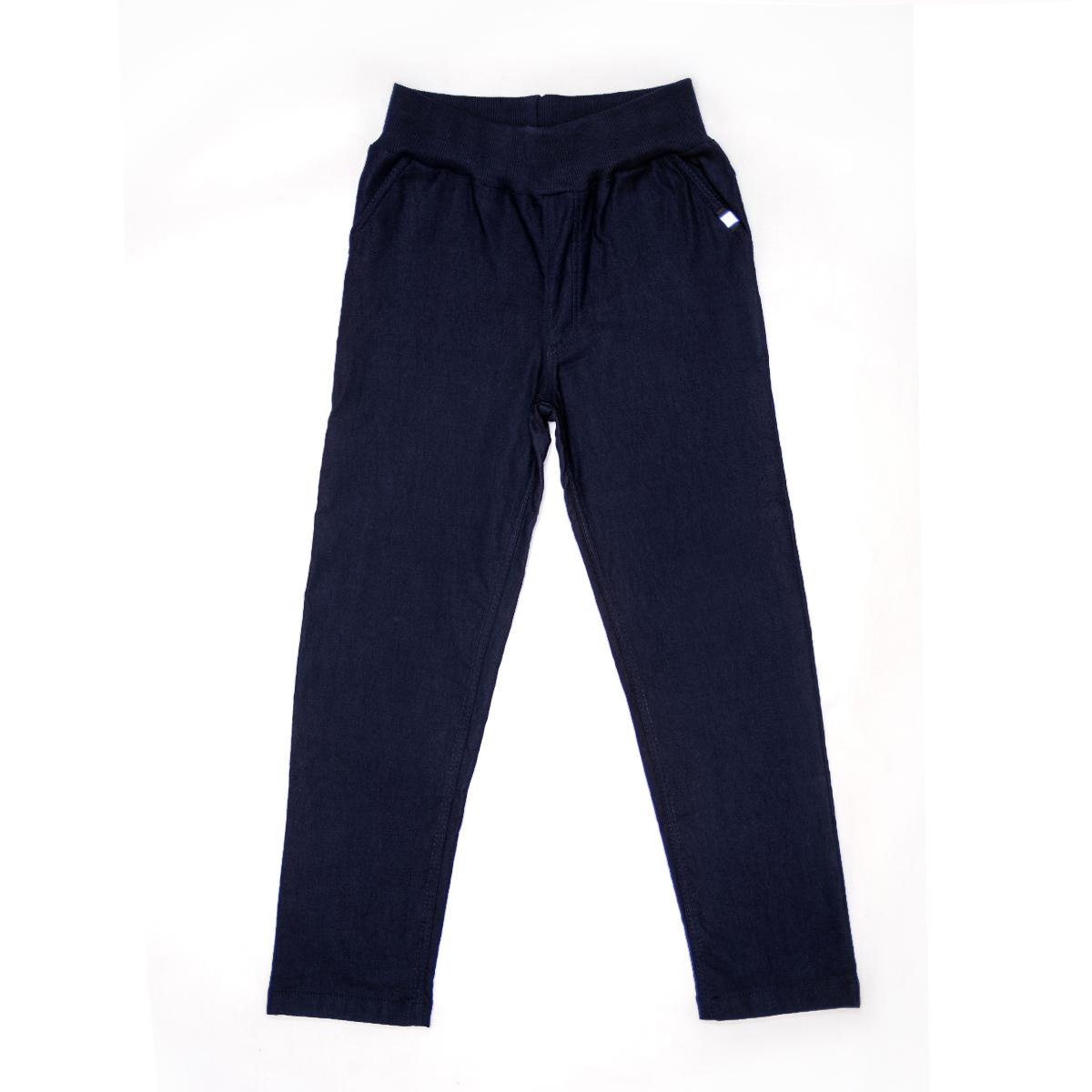 Брюки Джеггинсы SmileTime для мальчика утепленные Warm Fashion, темно-синие