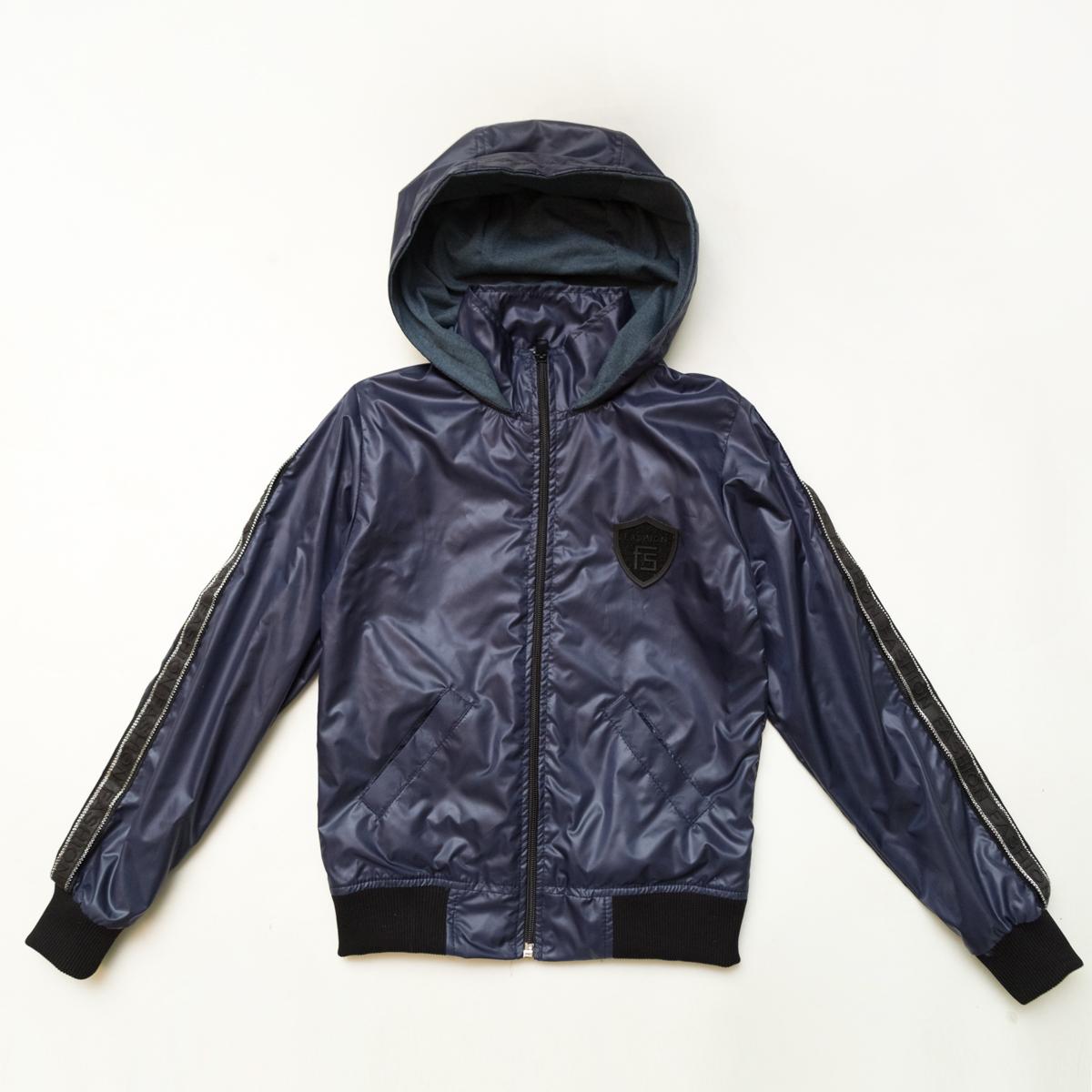 Куртка ветровка SmileTime на подкладе Fashion Time, темно-синий