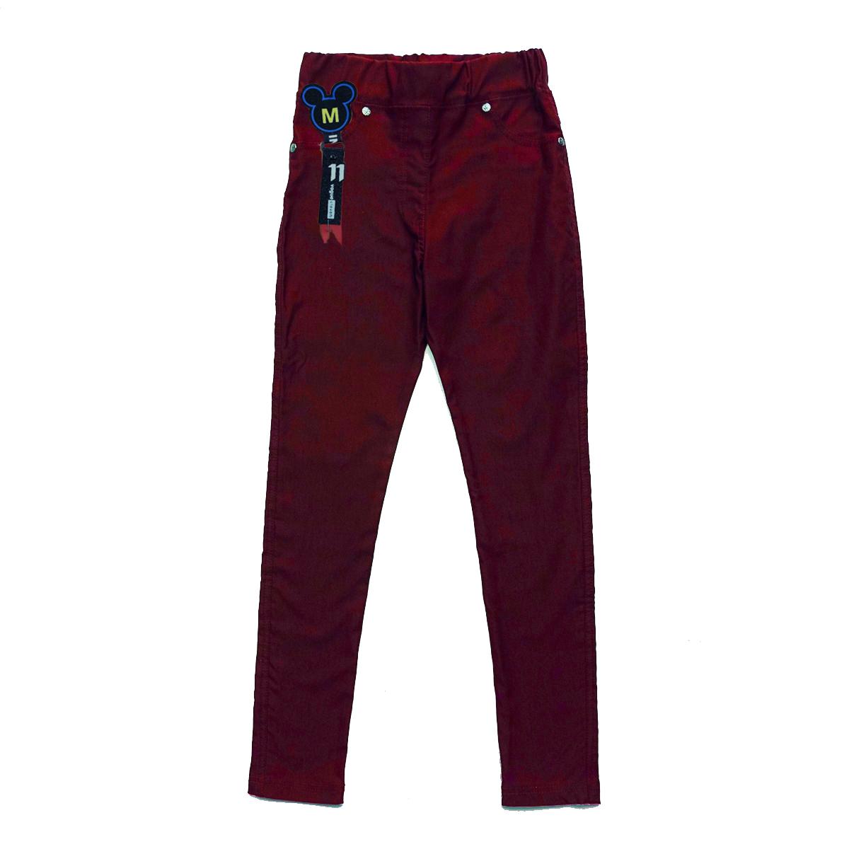 Легінси SmileTime утеплені дитячі Classic Jeans, бордо