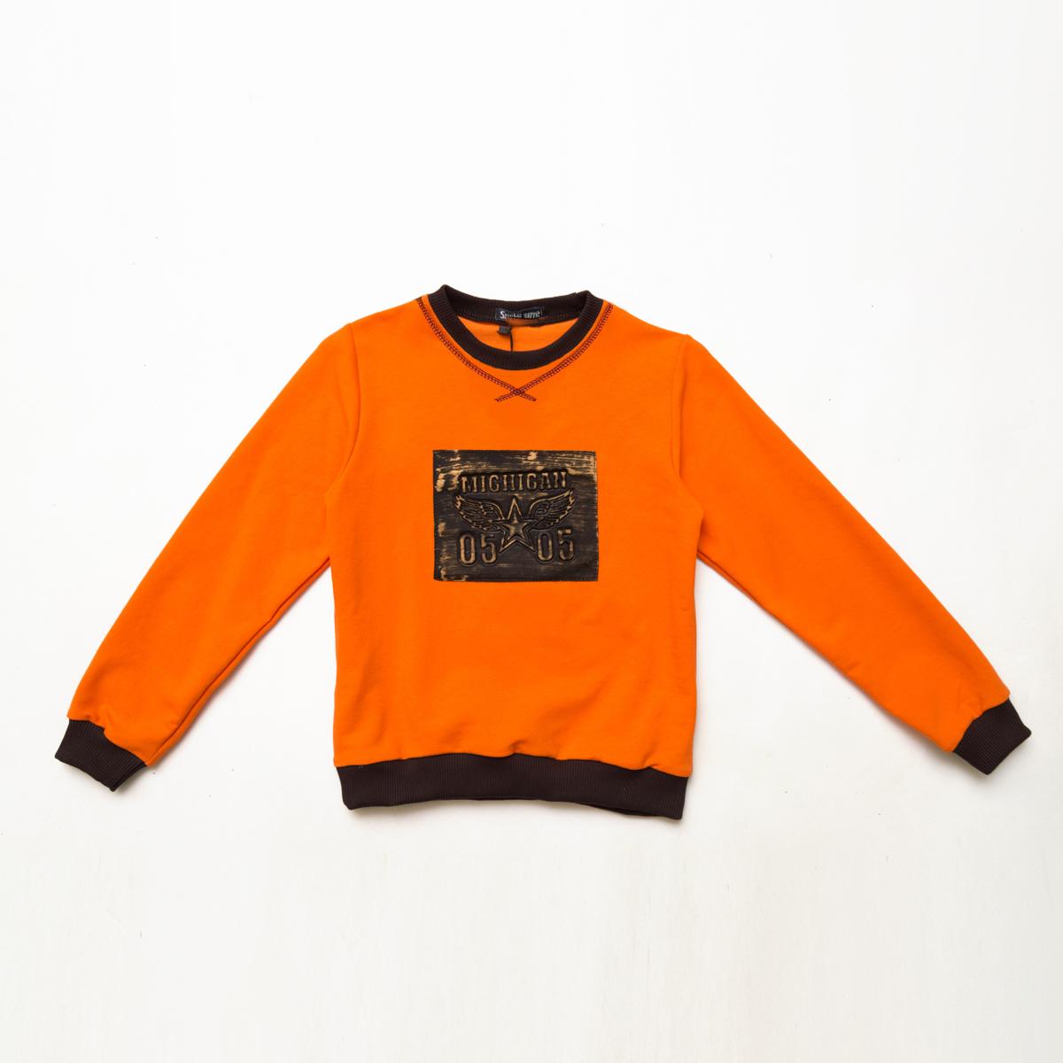 Свитшот SmileTime детский Michigan, оранжевый