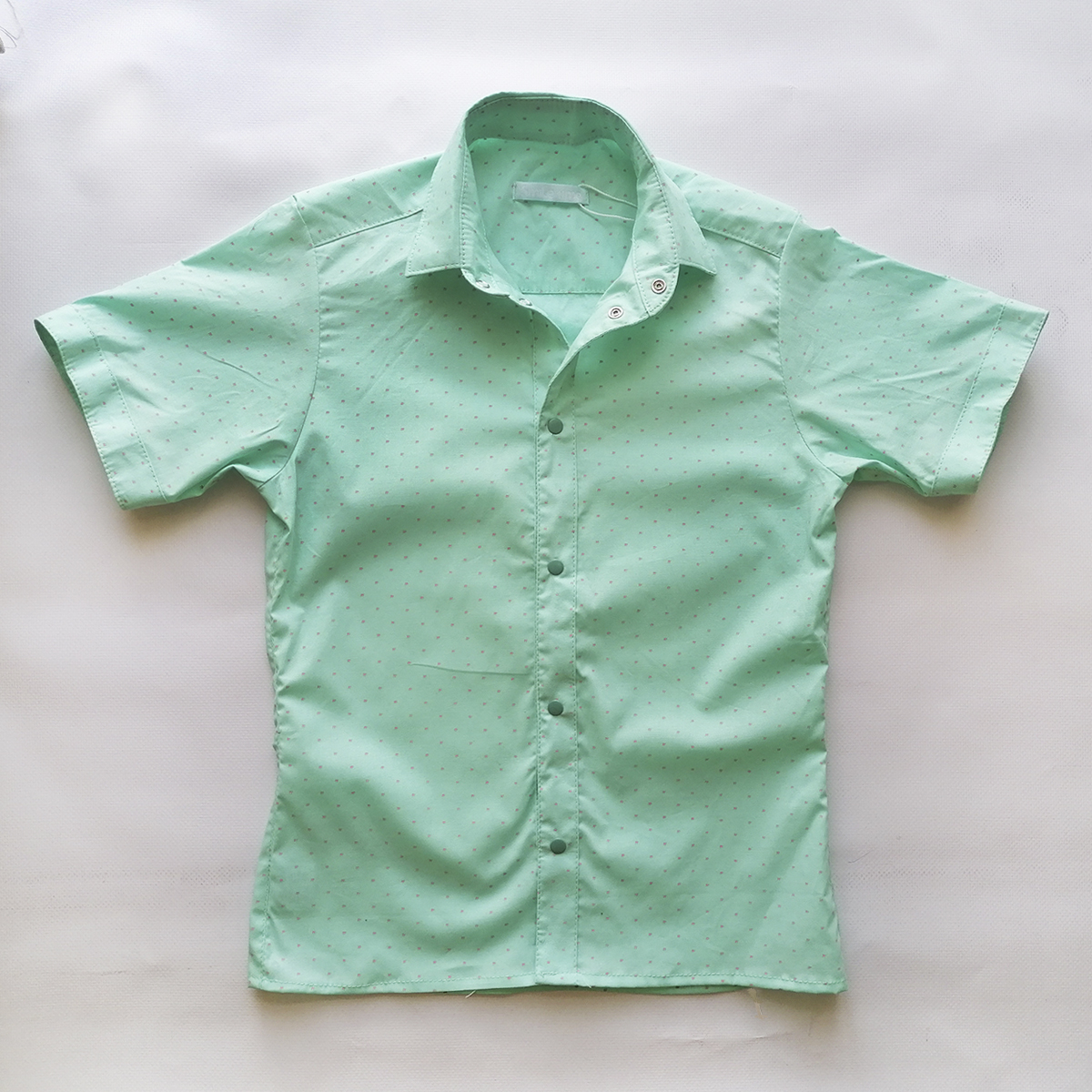 Сорочка з коротким рукавом, для хлопчика, м'ятна SmileTime Touch