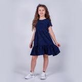 Платье для девочки SmileTime Gloria, синее