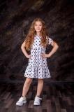 Сукня дитяча SmileTime для дівчинки Gloria, біла