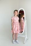 Платье детское для девочки SmileTime Bubbles, розовое