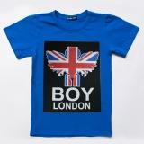 Футболка SmileTime для мальчика London, синий
