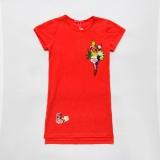 Платье SmileTime для девочки летнее Summer, красный