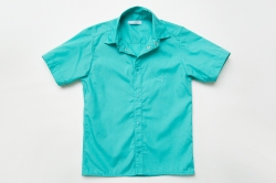 Рубашка SmileTime для мальчика с коротким рукавом Classic, мятная