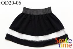 Юбка SmileTime детская нарядная Fantasy, черная