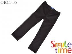 Брюки SmileTime для мальчика классика, темно-серые