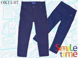 Брюки SmileTime для мальчика классические Fashion, темно-синие