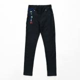 Леггинсы SmileTime утепленные детские Classic Jeans, темно-синие