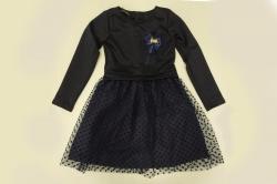 Платье SmileTime детское нарядное Mary, темно-синее