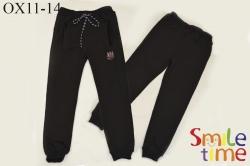 Штаны SmileTime для мальчика спортивные Fashion Black, черные