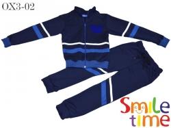 Костюм спортивный SmileTime для мальчика, темно-синий