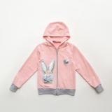 Кофта SmileTime детская Shiny Bunny, розовая