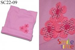 Шапка SmileTime Ушки, светло-розовая