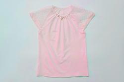 Блузка SmileTime короткий рукав Olivia, светло-розовая