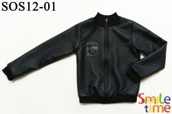 Куртка-ветровка SmileTime на подкладке Fashion Skin, темно-синяя