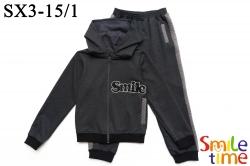 Костюм SmileTime для девочки Smile, темно-серый (ПОДРОСТОК)