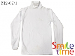 Водолазка SmileTime подростковая утепленная, белая