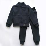 Теплый костюм для мальчика, с начесом, темно-синий Comfort SmileTime